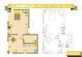 Pacote Vector Free Floorplan