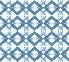 padrão sem emenda de linhas cruzadas azuis vetor