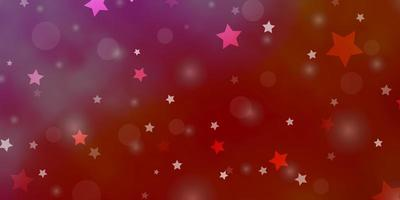 textura vermelha com círculos, estrelas.