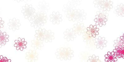 layout natural vermelho com flores.