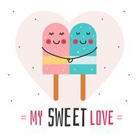 doce vetor de amor