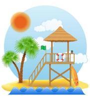 torre de salva-vidas de praia