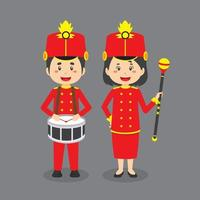 personagens da banda marcial