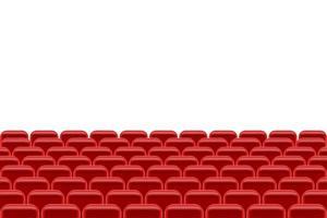 sala de teatro com assentos vetor