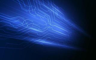 Fundo abstrato do vetor do conceito de inovação de tecnologia digital de alta tecnologia