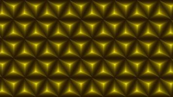 padrão geométrico abstrato de polígonos de gradiente dourado vetor