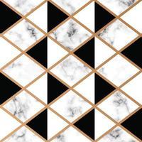design de textura de mármore com linhas geométricas douradas