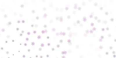 layout natural roxo claro, rosa com flores.