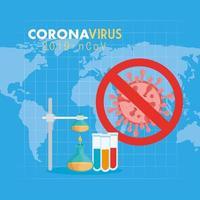 banner médico de coronavírus