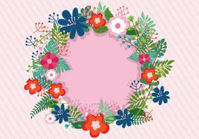 Guirlanda floral Primavera
