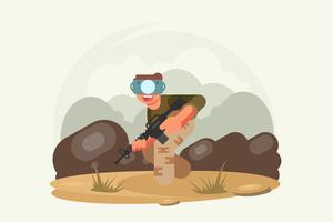 Vetores de experiência de realidade virtual