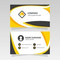 Cartão ondulado simples para design gráfico vetor