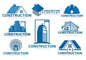 Vector logotipo da construção