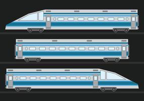 Trem de alta velocidade TGV vetor
