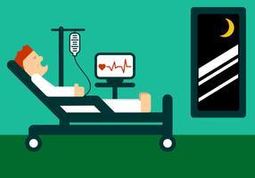 Hospitalização do Paciente vetor