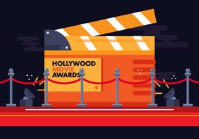 Vetor De Tapete Vermelho De Hollywood