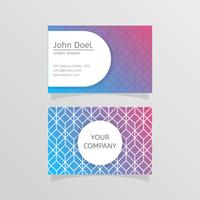 Modelo Stylistic Graphic Designer Business Card Template Vector