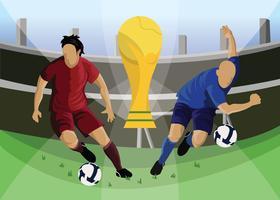 Esporte De Futebol vetor
