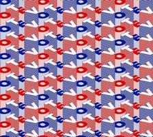 voto padrão sem emenda. vetor padrão sem emenda voto texto dia da eleição debate dos EUA da votação do presidente 2020. projeto de banner eleitoral, panfleto político