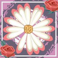 desenho abstrato de padrão de lenço para hijab