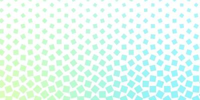 modelo de vetor azul e verde claro em retângulos.