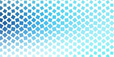 modelo de vetor azul claro com retângulos.
