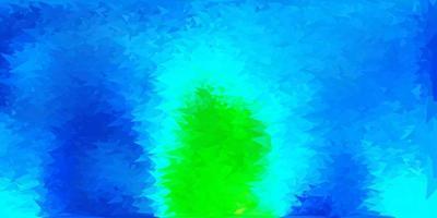 textura de triângulo poli vetor azul escuro e verde.