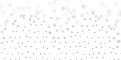 fundo abstrato do vetor rosa claro com folhas.