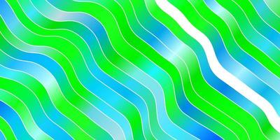 padrão de vetor azul e verde claro com linhas.