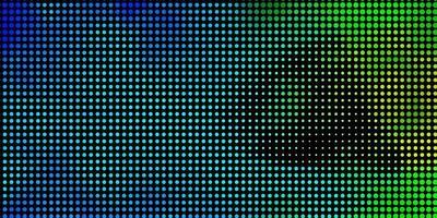 textura de vetor azul e verde claro com círculos.