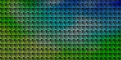 fundo vector azul e verde claro com retângulos.