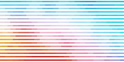 pano de fundo vector azul e vermelho claro com linhas.