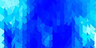 layout de polígono gradiente de vetor azul claro.