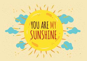 Você é o meu vetor do sol