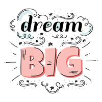 Grande vetor de sonho
