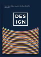pôster de néon, design retro, padrão de ficção científica dos anos 80, plano de fundo futurista. modelo de folheto. formas, movimento, ilustração vetorial geométrica abstrata para convite de festa de música, banner minimalista, impressão de 1980.