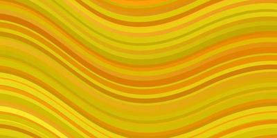 modelo de vetor amarelo claro com linhas irônicas.