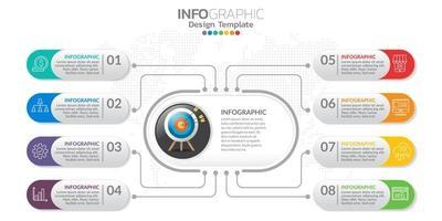 banner de marketing digital online com ícones para conteúdo comercial. vetor