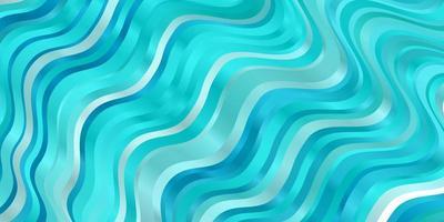 textura vector azul, verde claro com curvas.