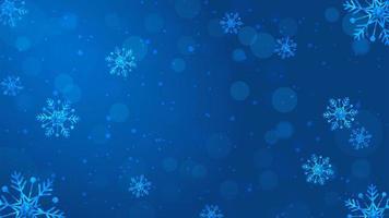 neve fundo de natal