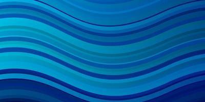 padrão de vetor azul claro com linhas irônicas.