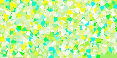 textura vector azul claro com estilo triangular.