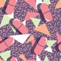 pílulas e cápsulas estouram padrão sem emenda