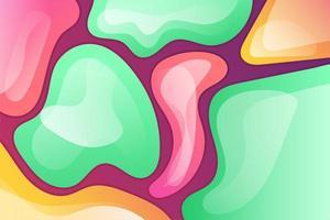 fundo líquido moderno colorido gradiente