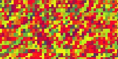 luz de fundo multicolor vector com retângulos.
