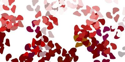 textura leve vetor multicolorido com formas de memphis.