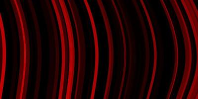 layout de vetor vermelho escuro com linhas irônicas.