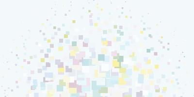 luz padrão multicolorido de vetor em estilo quadrado.