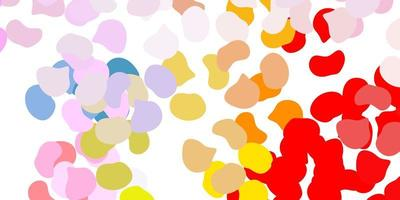 textura leve multicolorida com formas de memphis