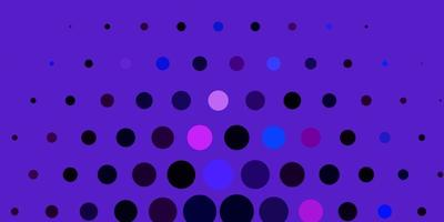padrão de vetor rosa, azul claro com esferas.